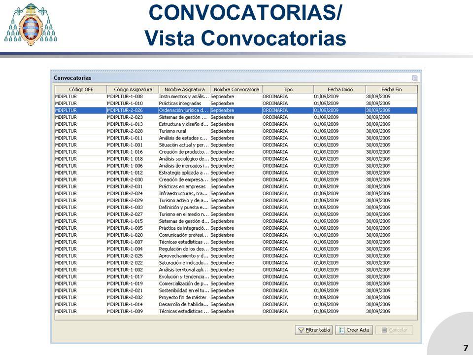 CONVOCATORIAS/ Vista Convocatorias 7