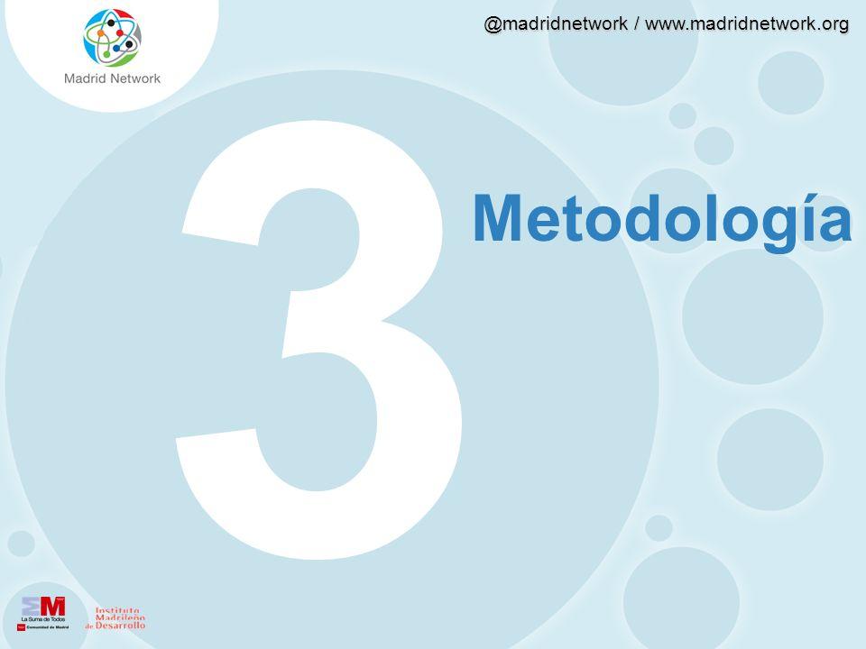 @madridnetwork / www.madridnetwork.org 4.3 Caracterización del uso