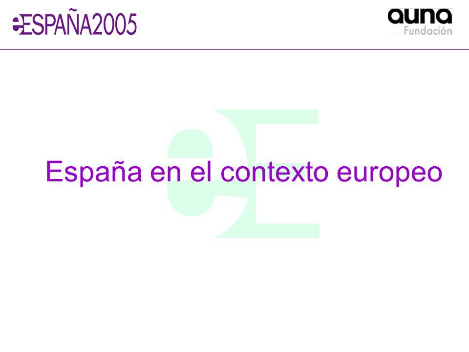 España en el contexto europeo