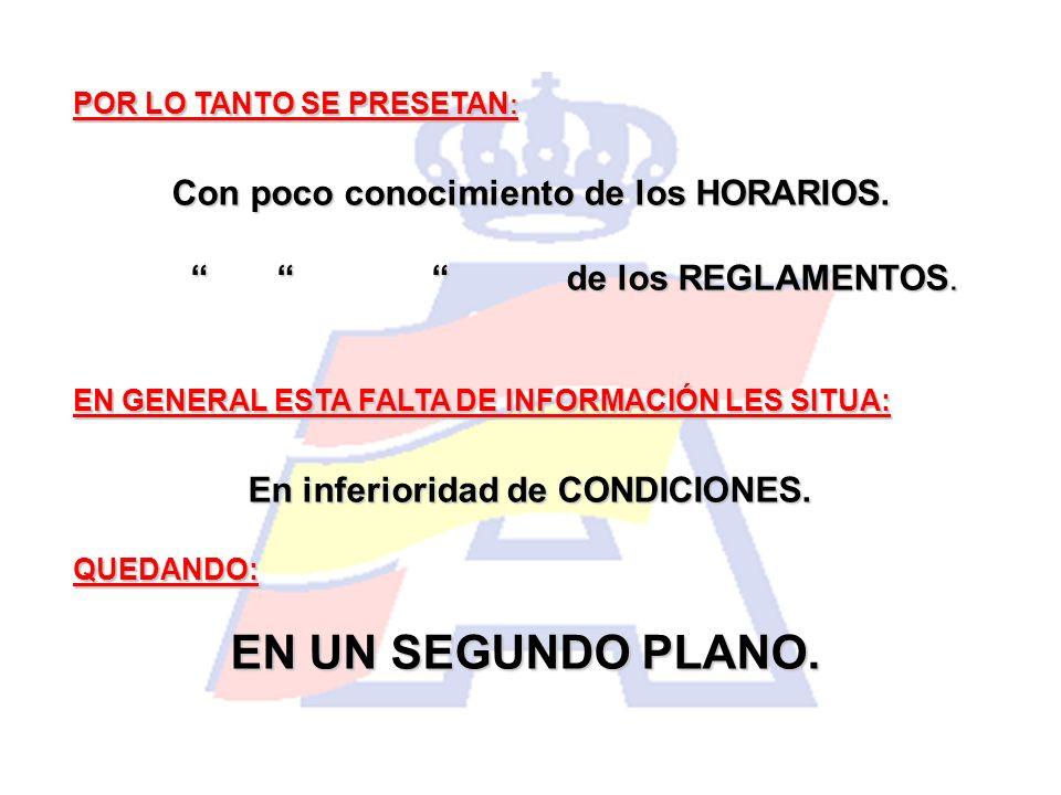 POCA PARTICIPACIÓN (Debates y Toma de Decisiones).