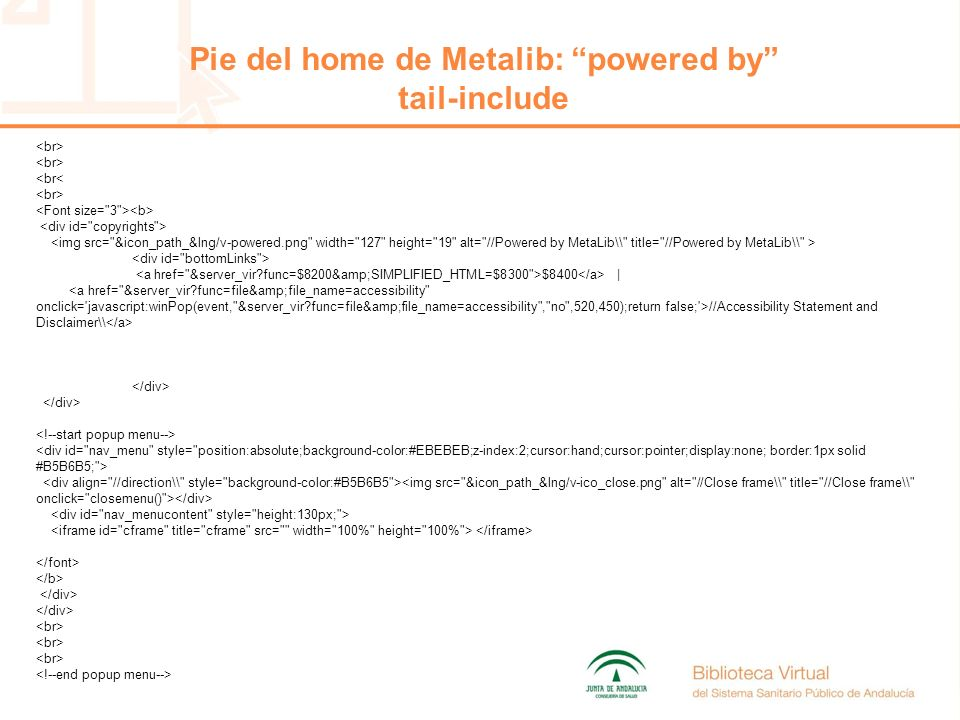 <br< $8400 | //Accessibility Statement and Disclaimer\ Pie del home de Metalib: powered by tail-include