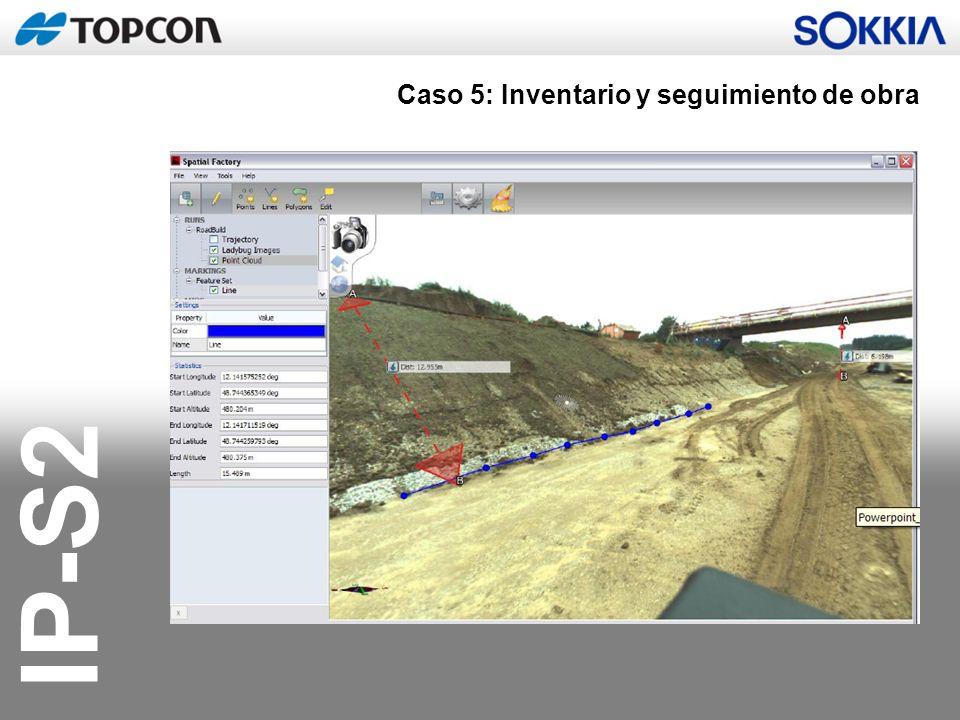 IP-S2 Caso 5: Inventario y seguimiento de obra