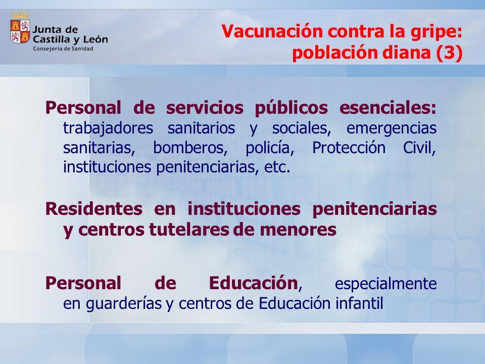 La Junta de Castilla y León mantiene la vacuna contra el neumococo a partir de los 60 años También para los nuevos ingresos en instituciones geriátricos y para aquellos pacientes con enfermedades crónicas de riesgo (enfermos del corazón, bronquíticos, diabéticos, etc.) que no hayan sido anteriormente vacunados Vacunación contra el neumococo: población diana