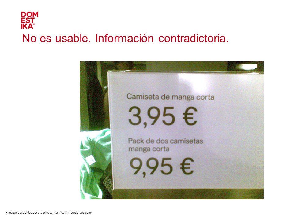 No es usable. Información contradictoria. Imágenes subidas por usuarios a: http://wtf.microsiervos.com/