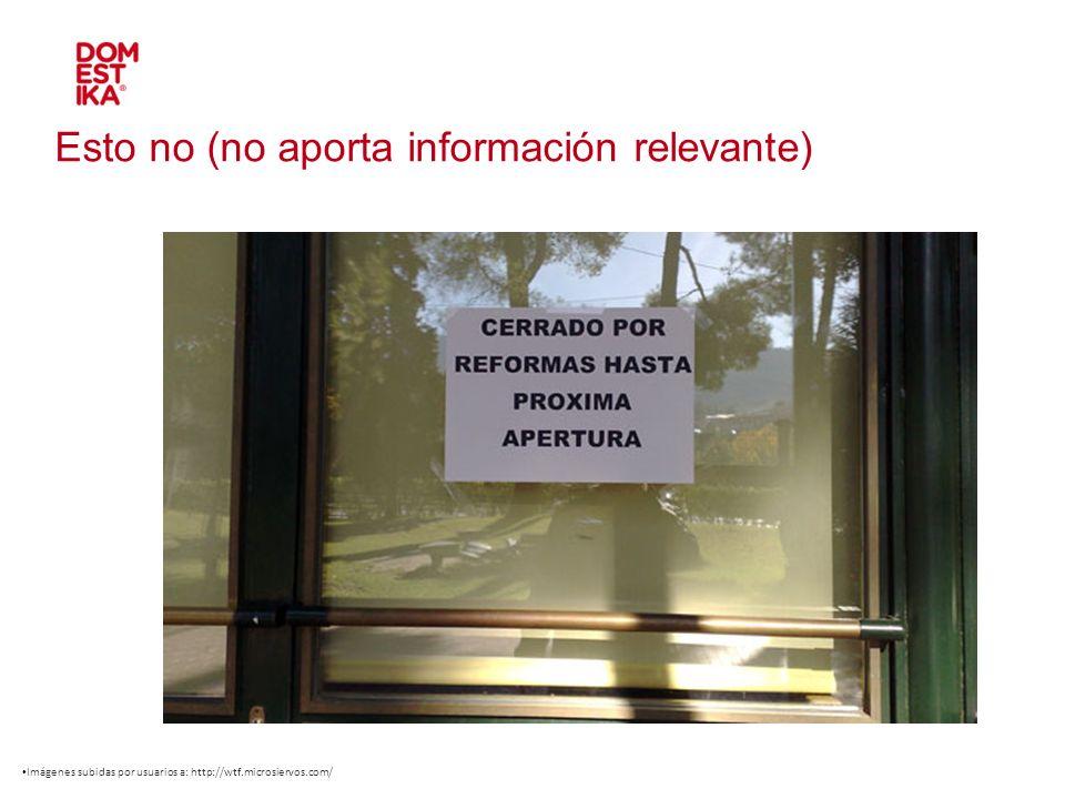 Dominio / URL de la web