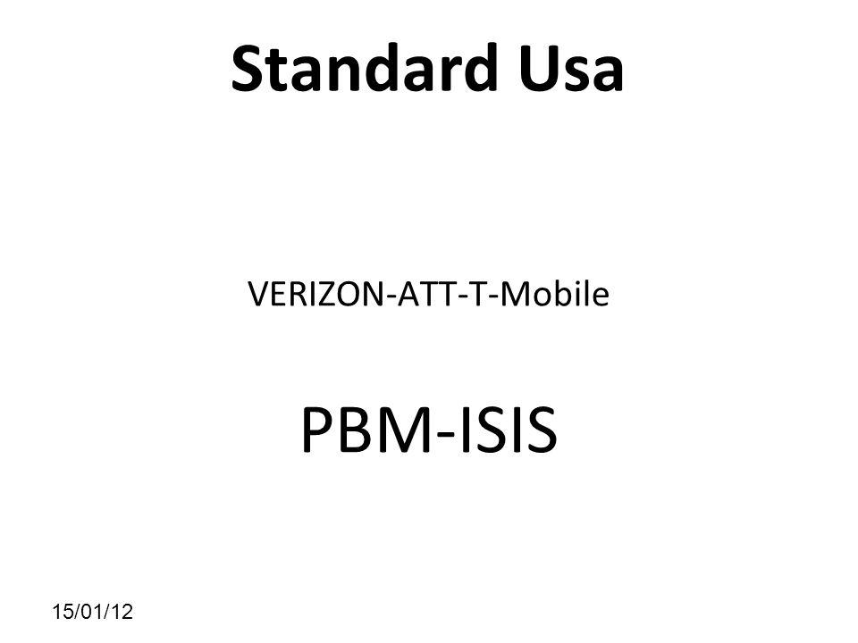 15/01/12 Standard Usa VERIZON-ATT-T-Mobile PBM-ISIS