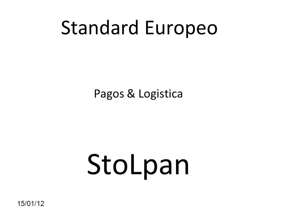15/01/12 Standard Europeo Pagos & Logistica StoLpan
