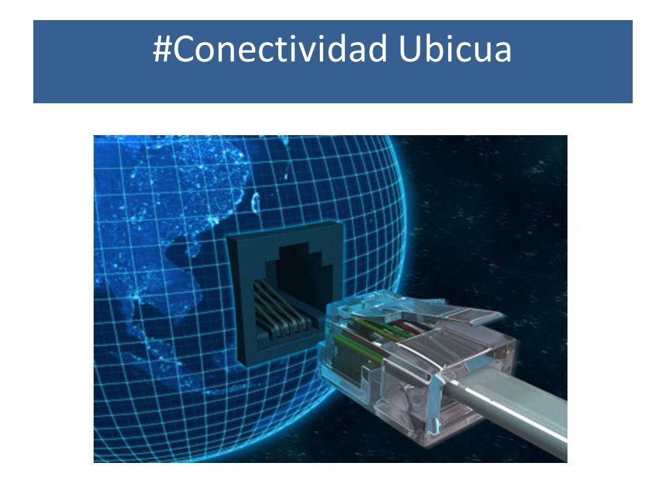 #Conectividad Ubicua