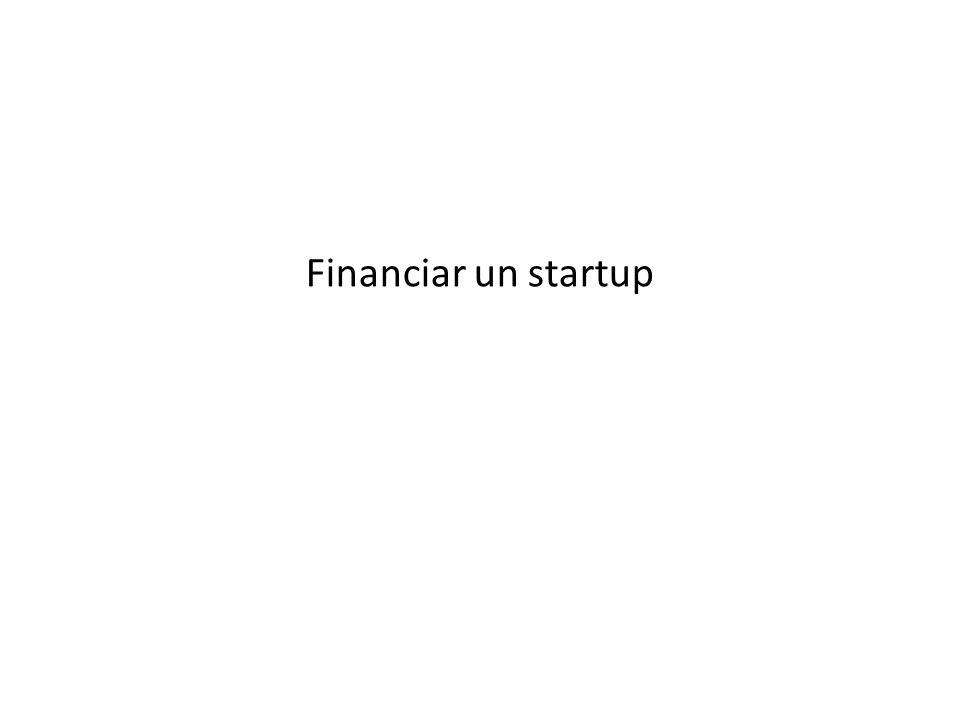 Financiar un startup