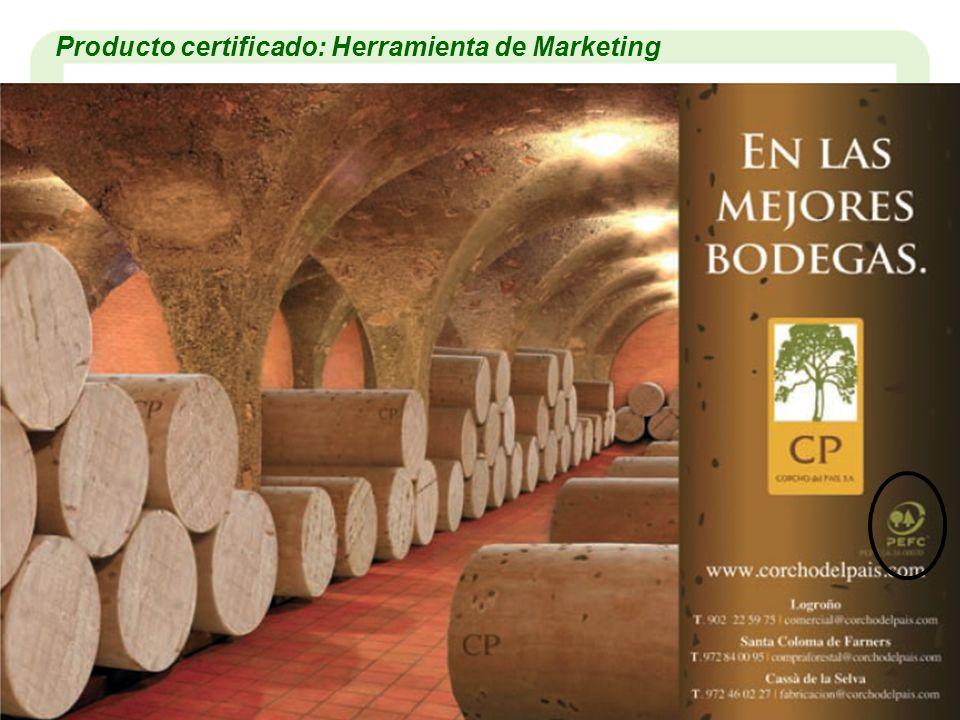 Producto certificado: Herramienta de Marketing