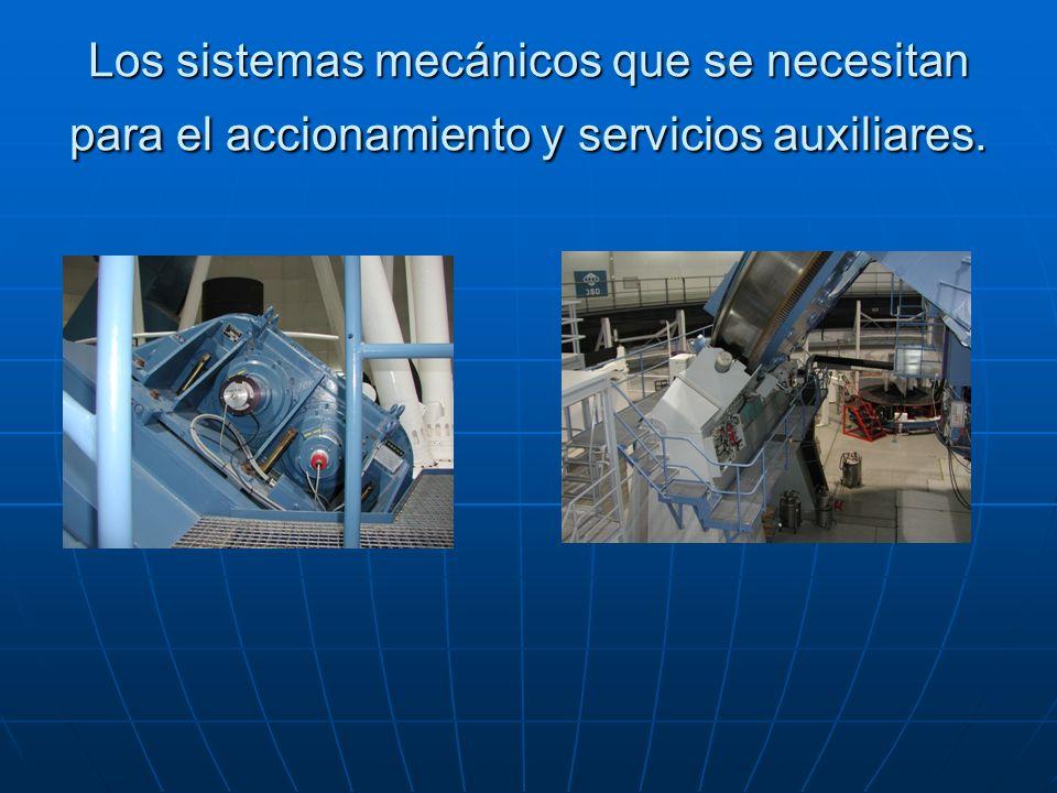 Aparte tenemos todo un sistema logístico como son el sistema de cambio automático de los instrumentos, sistemas de refrigeración, sistemas de secado de aire, máquinas de frió.