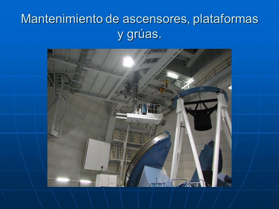 Reparación del alojamiento sur telescopio 3.5Reparación del alojamiento sur telescopio 3.5