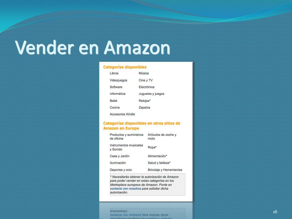 Vender en Amazon 16