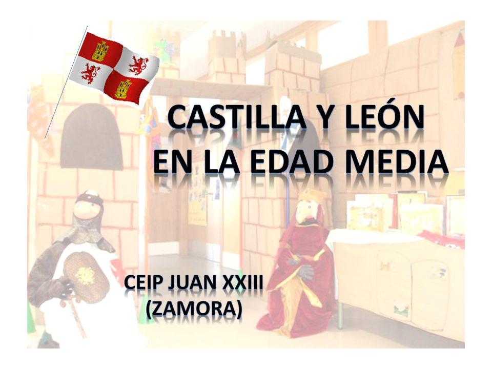 En el CEIP Juan XXIII hemos querido celebrar el día de Castilla y León volviendo unos cuantos siglos atrás, hasta la Edad Media.
