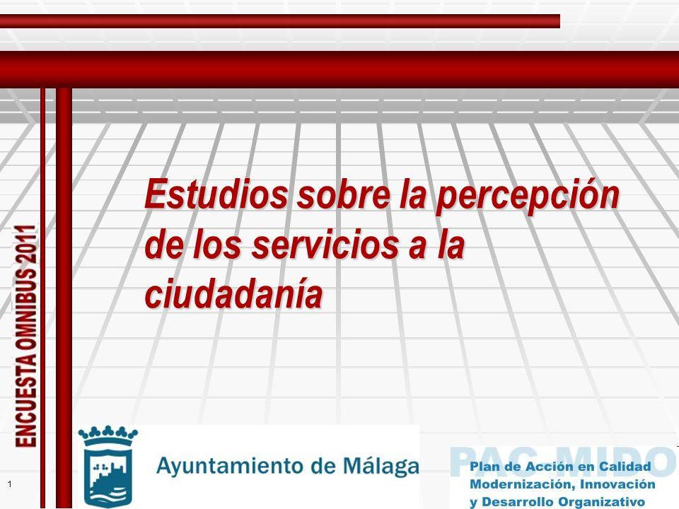 1 Estudios sobre la percepción de los servicios a la ciudadanía