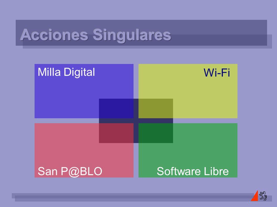 Milla Digital San P@BLO Wi-Fi Software Libre