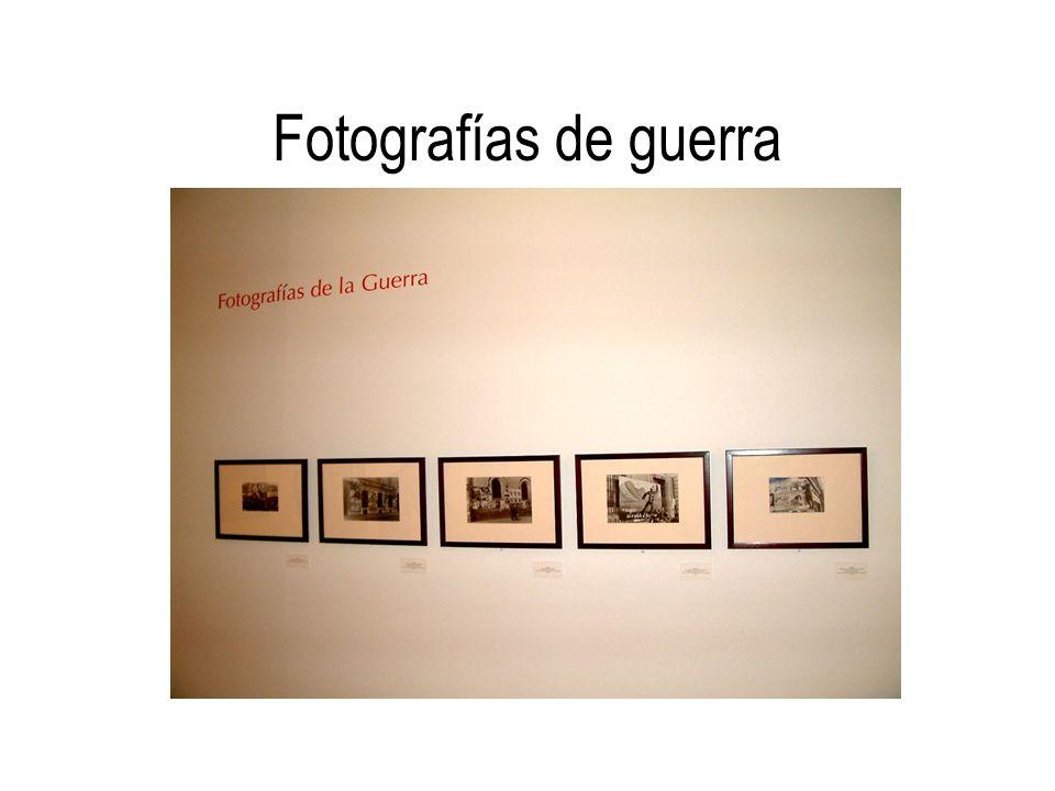 Fotografías de guerra