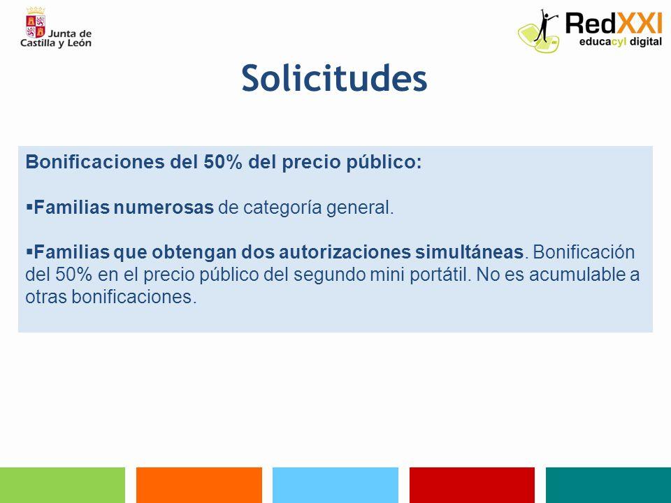 Solicitudes Documentos acreditativos para optar al régimen de exenciones y bonificaciones: Copia de la declaración del IRPF.