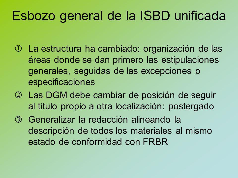 Edición unificada Buscando interoperabilidad con otros sistemas y formatos de visualización se ha cambiado ligeramente la puntuación 2ª ed..