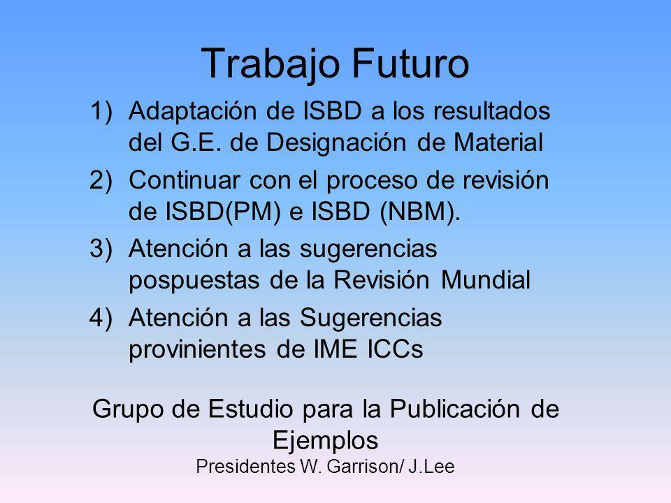 La página web del Grupo de Revisión de ISBD http://www.ifla.org/VII/s13/isbd-rg.htm