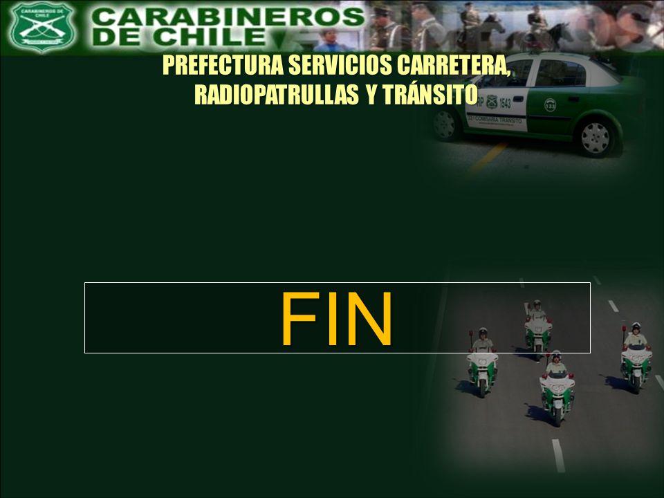 PREFECTURA SERVICIOS CARRETERA, RADIOPATRULLAS Y TRÁNSITO FIN