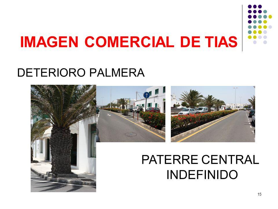 15 IMAGEN COMERCIAL DE TIAS DETERIORO PALMERA PATERRE CENTRAL INDEFINIDO