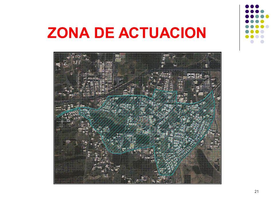 21 ZONA DE ACTUACION
