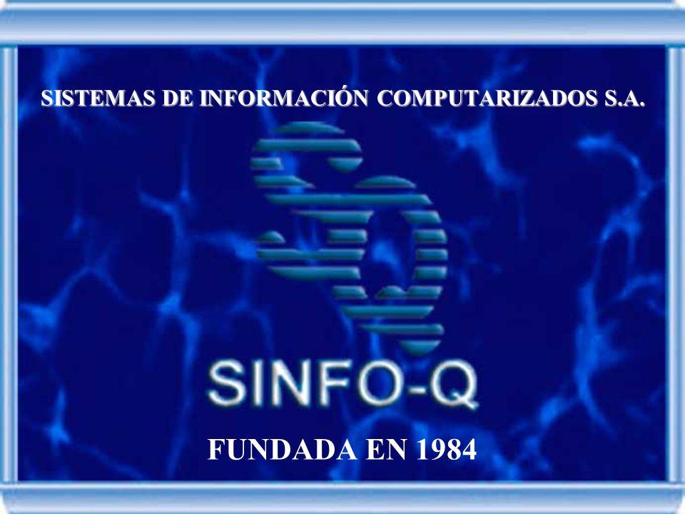 SISTEMAS DE INFORMACIÓN COMPUTARIZADOS S.A. FUNDADA EN 1984