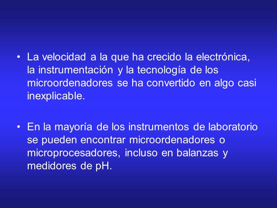 La velocidad a la que ha crecido la electrónica, la instrumentación y la tecnología de los microordenadores se ha convertido en algo casi inexplicable