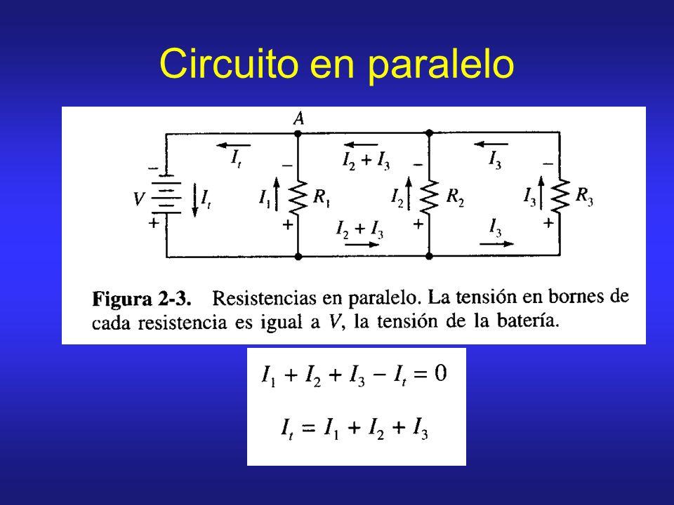 Circuito en paralelo