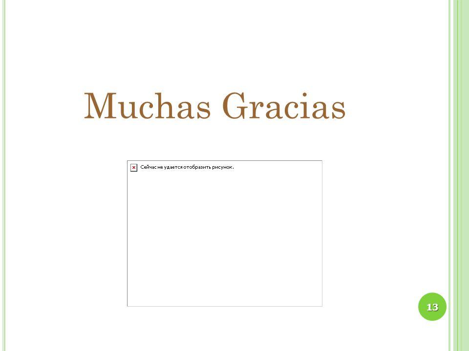 Muchas Gracias 13