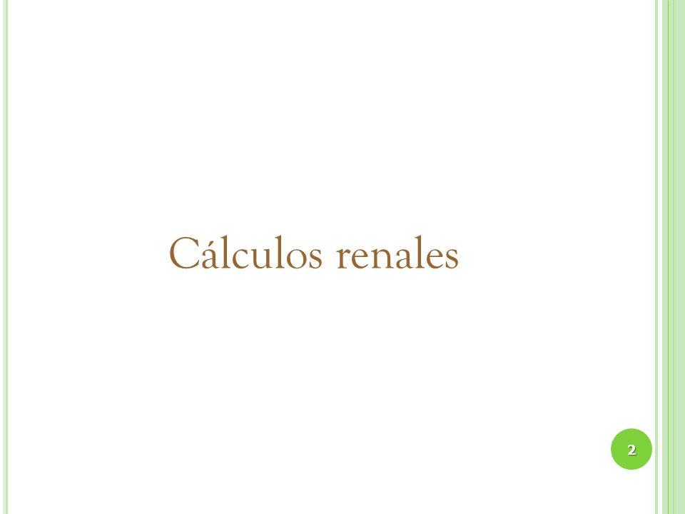 Cálculos renales 2