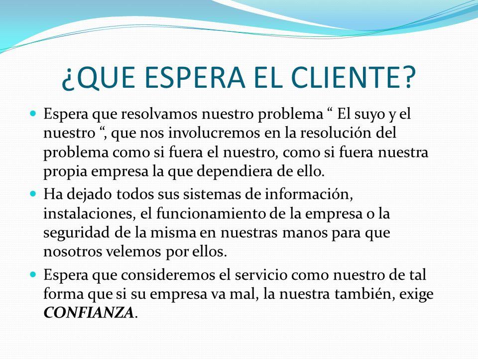 Cliente interno Sus empleados trabajaran para ganarse la confianza de los clientes sólo si se la tienen a Usted, su empleador.
