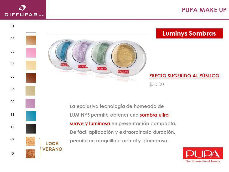 PUPA MAKE UP Extra luminoso y con destellos este brillo de labios con pincel permanece impecable por horas.