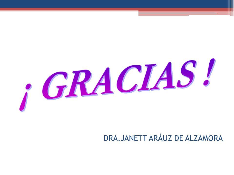 DRA.JANETT ARÁUZ DE ALZAMORA