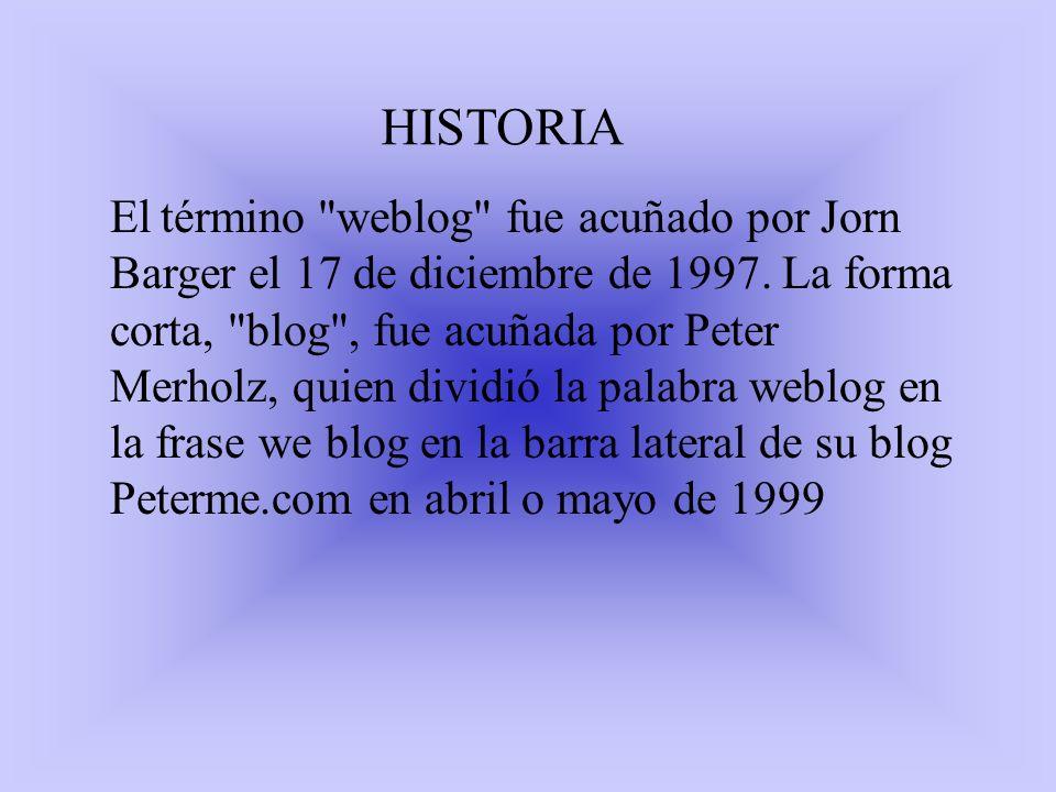 HISTORIA El término