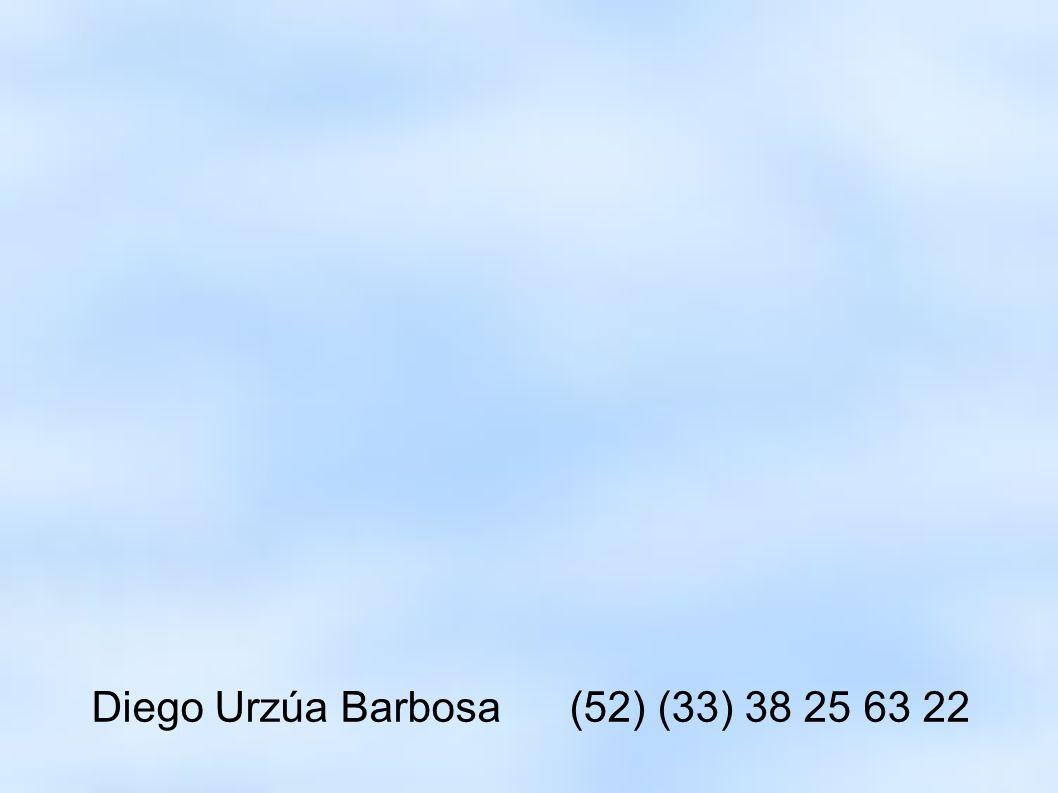 Diego Urzúa Barbosa (52) (33) 38 25 63 22