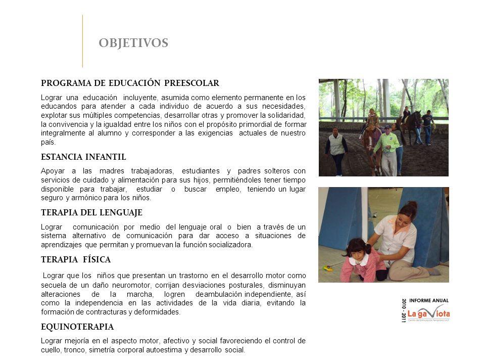 EDUCACIÓN PREESCOLAR De los 65 niños atendidos en este ciclo escolar 55 de ellos consolidaron los prerrequisitos para poder acceder al siguiente nivel de su educación dentro de La Gaviota, 8 egresaron del Centro de los cuales, 2 se integraron a escuelas de educación especial y 6 a escuelas regulares.