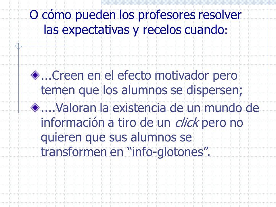 Potencialidades formativas Resolución de problemas Personalización e contextualización de recursos Pragmatismo Trabajo cooperativo y/o colaborativo Innovación Autoría