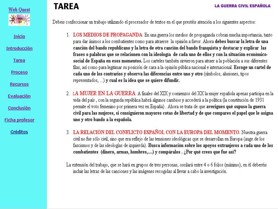 9 WQ aplicables a ELE 3 TÍTULODIRECCIÓN WEBETAPA (negro) MCER (azul) ÁREA (En origen) CALGRA Conocer para acertar http://iesdepastoriza.edu.xunt a.es/xente/ignaciomv/Webqu est%20Conocer%20para%20a ceptar%20(inmigracion)/ Bachillerato B2 Sociales Intercultura 2 2