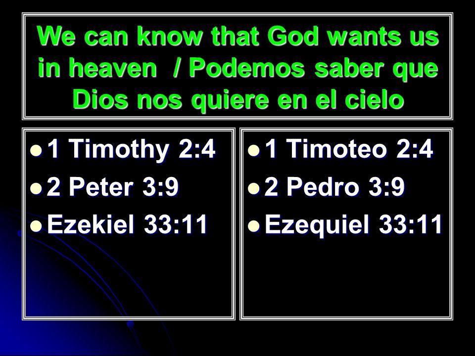We can trust the Bible / Podemos confiar en la Biblia 2 Timothy 3:14-17 2 Timothy 3:14-17 2 Peter 1:20- 21 2 Peter 1:20- 21 John 17:17 John 17:17 2 Timoteo 3:14-17 2 Timoteo 3:14-17 2 Pedro 1:20- 21 2 Pedro 1:20- 21 Juan 17:17 Juan 17:17