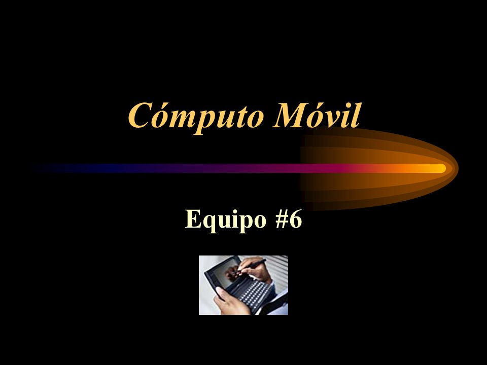 Cómputo Móvil Equipo #6