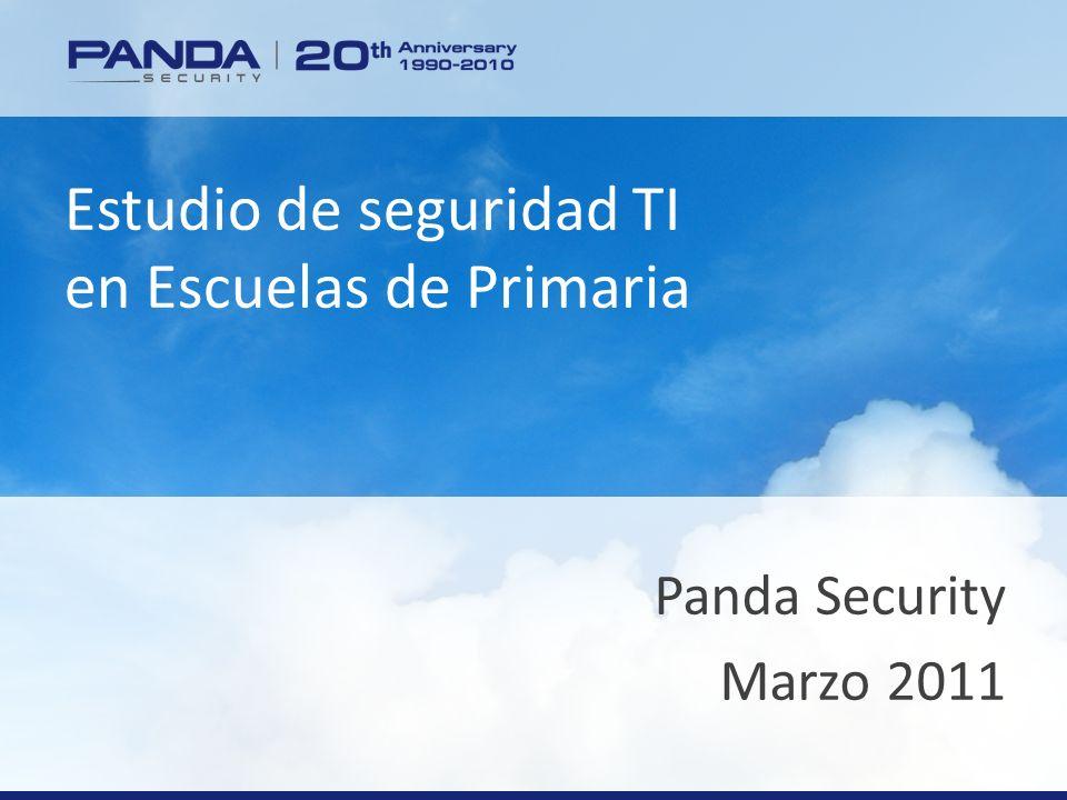www.pandasecurity.com Estudio de seguridad TI en Escuelas de Primaria Panda Security Marzo 2011