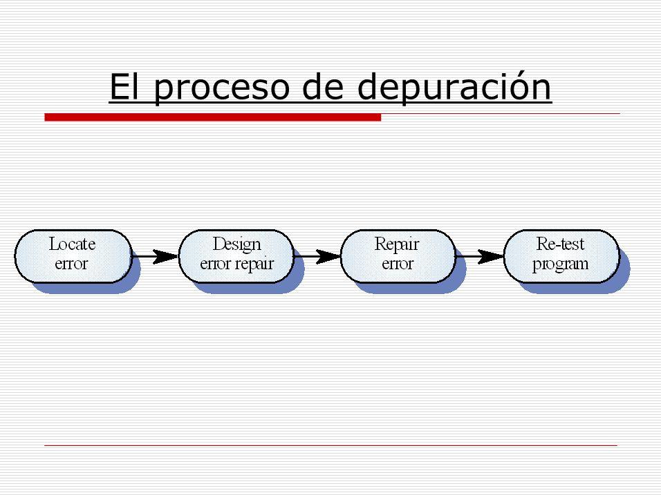El proceso de depuración