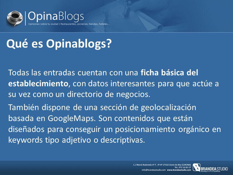 Qué es Opinablogs.