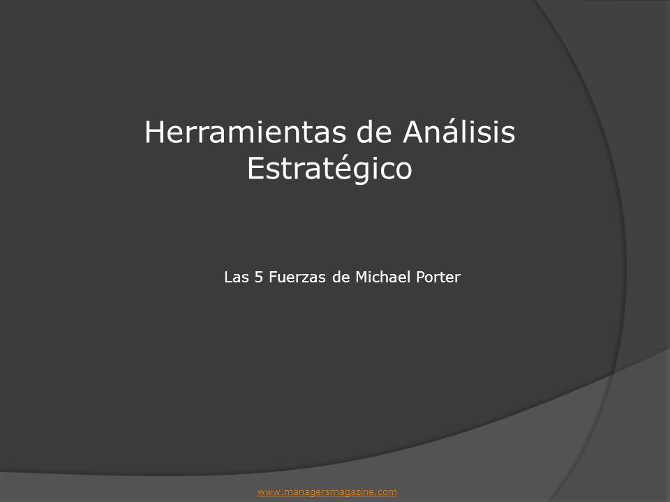 Las 5 Fuerzas de Michael Porter Herramientas de Análisis Estratégico www.managersmagazine.com