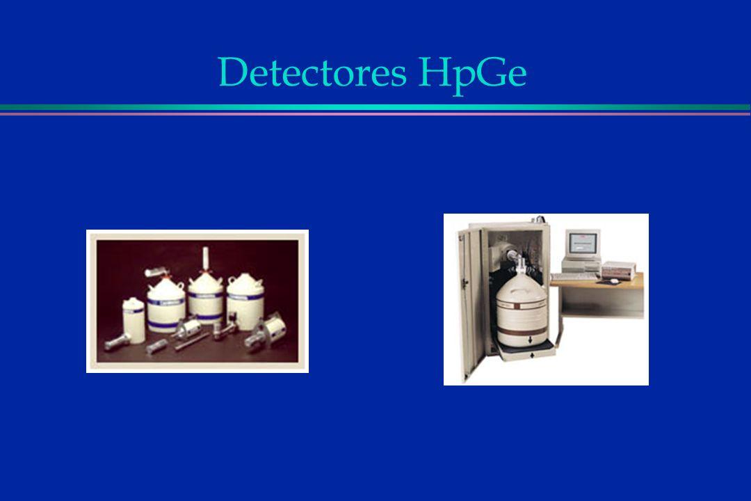 Detectores HpGe