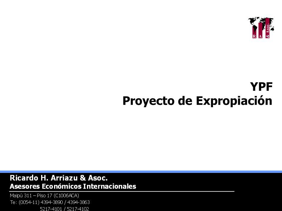 YPF Proyecto de Expropiación