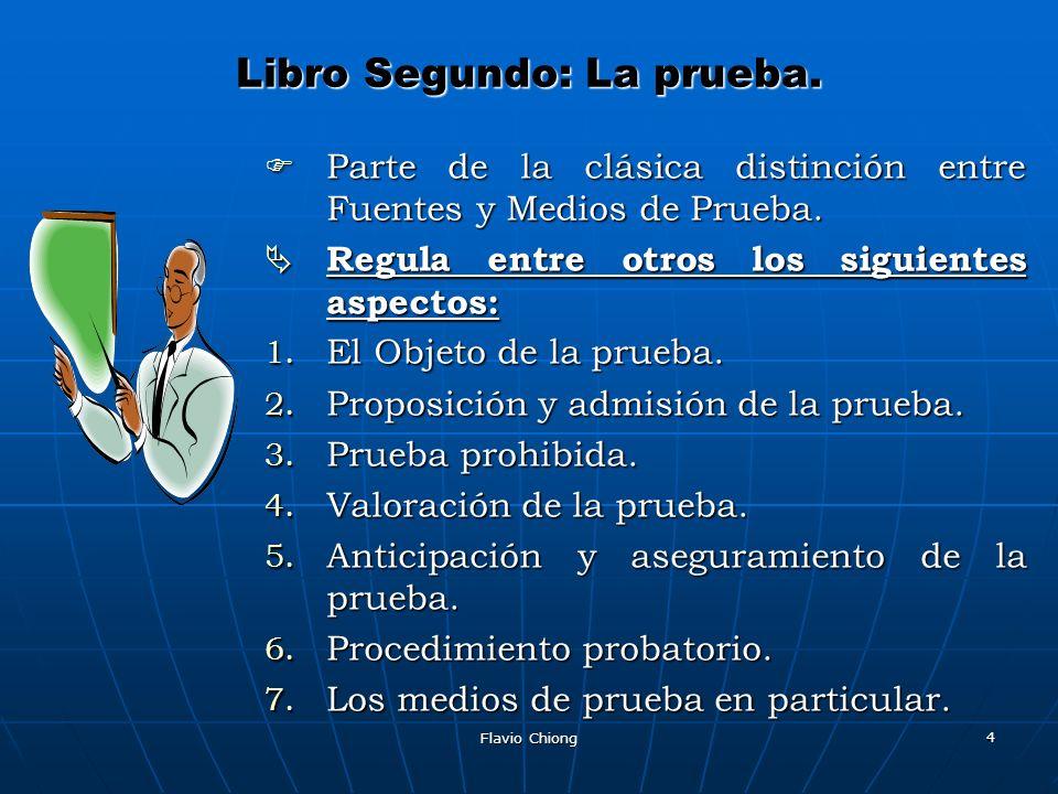 Flavio Chiong 15 LIBRO OCTAVO: JURISDICCION VOLUNTARIA.