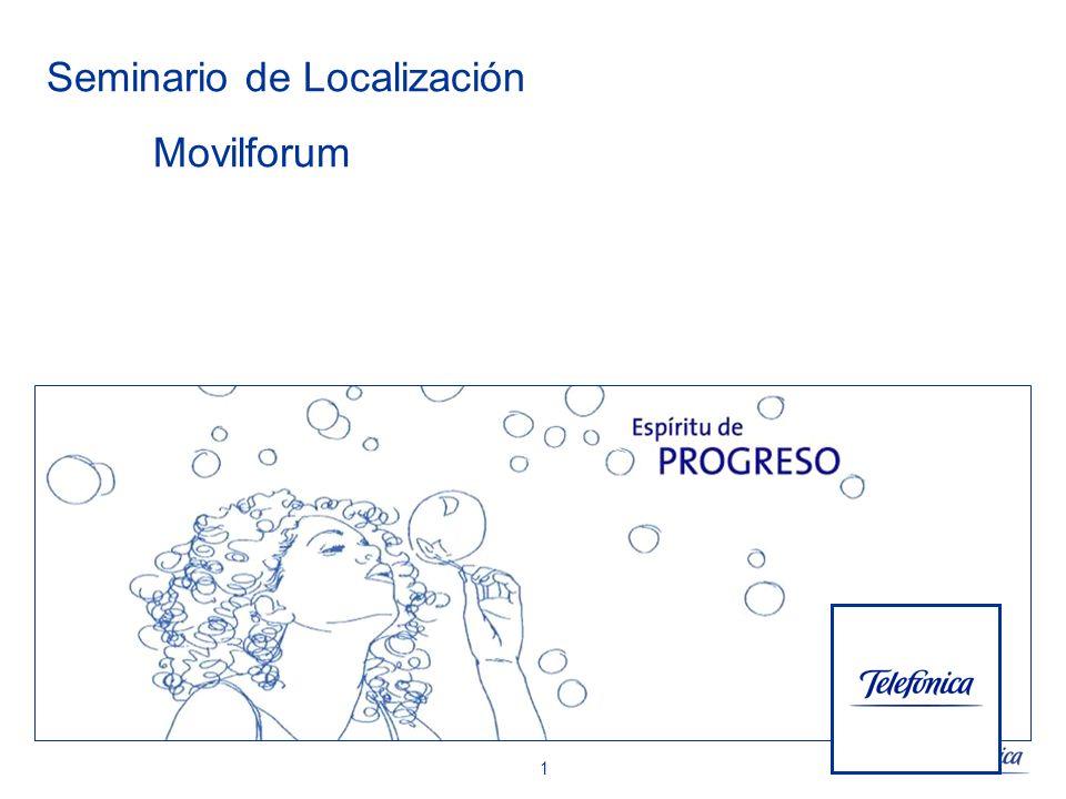 22 Introducción Tecnologías de localización.